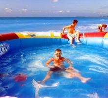 Надувной бассейн Солнце