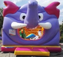 Надувной батут Слон