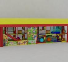 Игровая комната 2x8x2.5