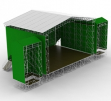 Тенты-крыши для концертных конструкций