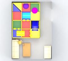 Игровая комната 4х3х2,9