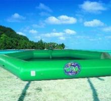 Надувной бассейн Остров